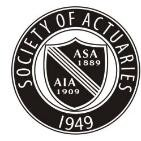 SOA Society of Actuaries